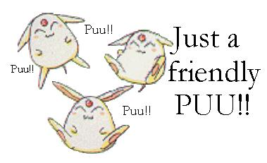 Just a friendly puu!
