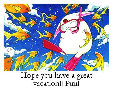 Hope you have a great vacation!